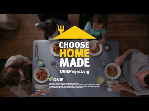 Choose Homemade Aloha Chicken Family Eating Commercial