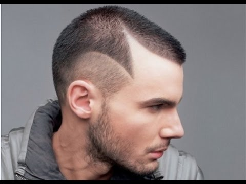 Mens Hairstyles Shaved Lines