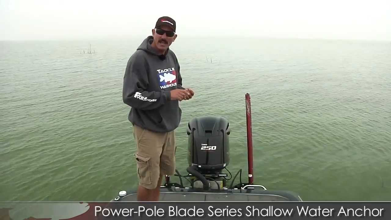 Power-Pole Blade Series Shallow Water Anchor 2012