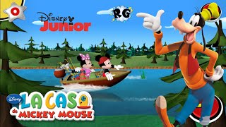 Mickey & Minnie's Universe - Mickey Mouse Fishing Day / Dia de Pesca - Disney Junior
