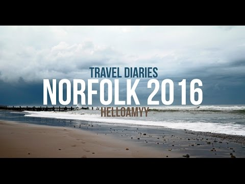 TRAVEL DIARIES//NORFOLK 2016//VLOGS | HelloAmyy