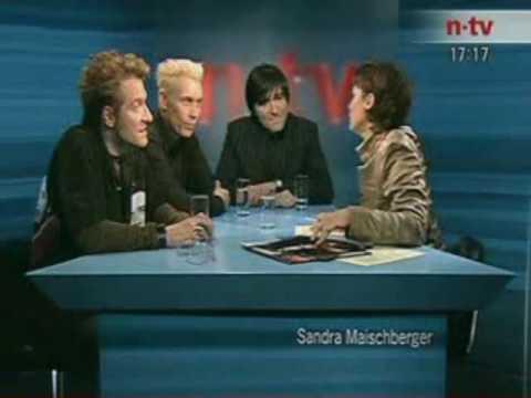 NTV Maischberger Interview Die Ärzte 04.12.2003 Teil 1/3