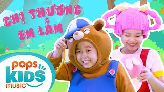 Mầm Chồi Lá - Chị Thương Em Lắm | Nhạc thiếu nhi hay cho bé | Vietnamese Kids Song