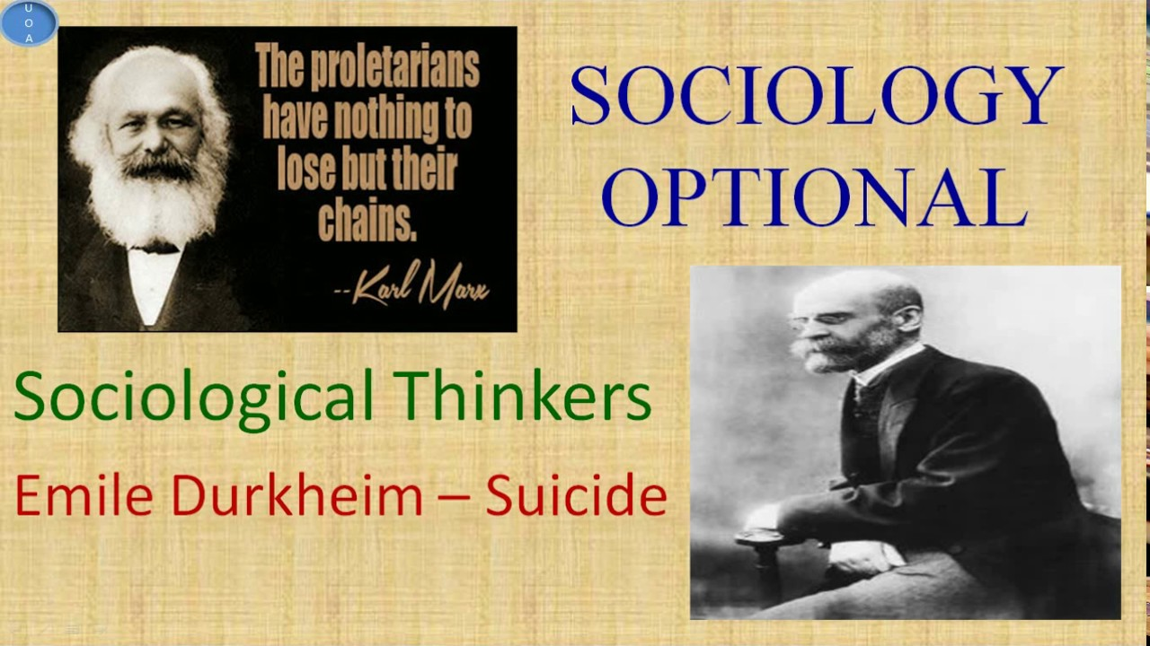 sociology and emile durkheim Durkheim aspired to track down social facts, to discern the moral imperatives implicit in them, and to investigate transgressions against them (in a sense sociology for him was 'a science of ethics'.
