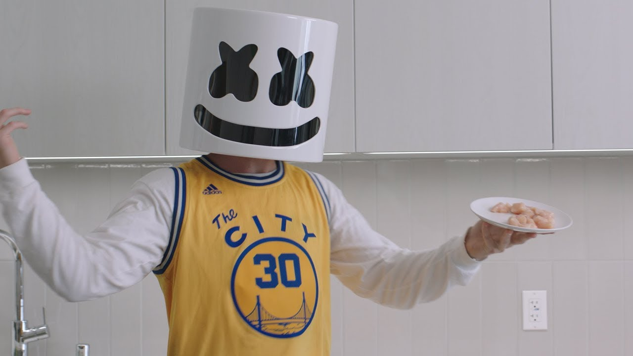 Cooking Chicken Curry Courtside With Marshmello