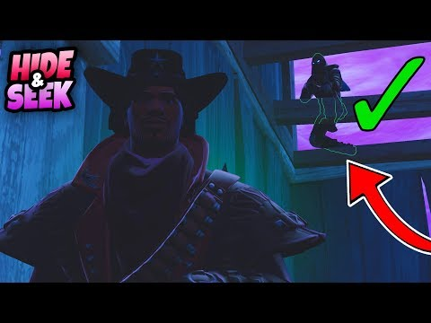 HORROR Hide and Seek!! | Fortnite Mini-game Playgrounds (Nederlands)