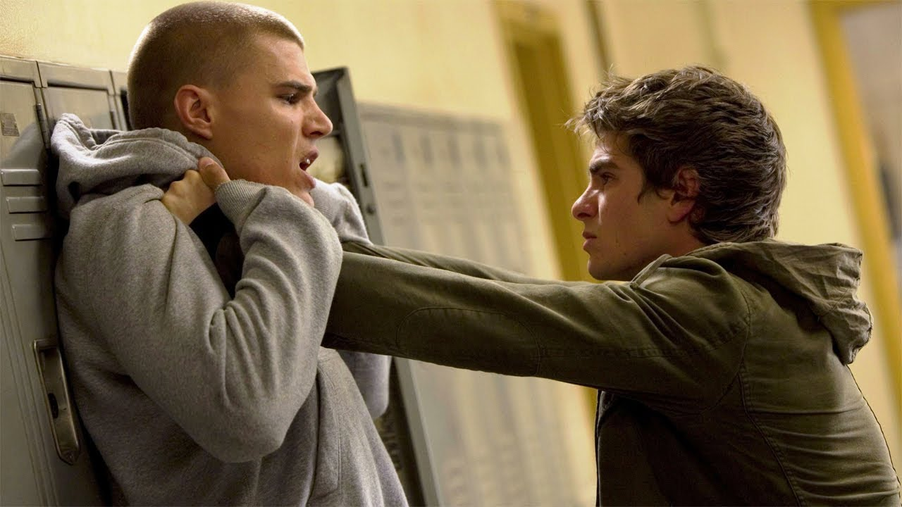 Download Peter Parker Lifts Flash - High School - After Uncle Ben's Death - The Amazing Spider-Man 2 (2014)