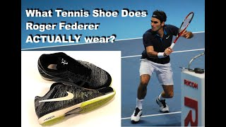 Roger Federer Actual Tennis Shoes REVEALED!