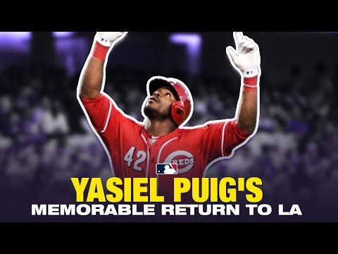 Puig's blasts HR off Kershaw during return to L.A.