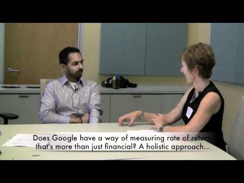 Google: How it chooses green investments