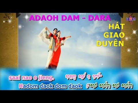 Adaoh Dam-Dara   Karaoke MSC   Hát Giao Duyên (dân ca Chăm)
