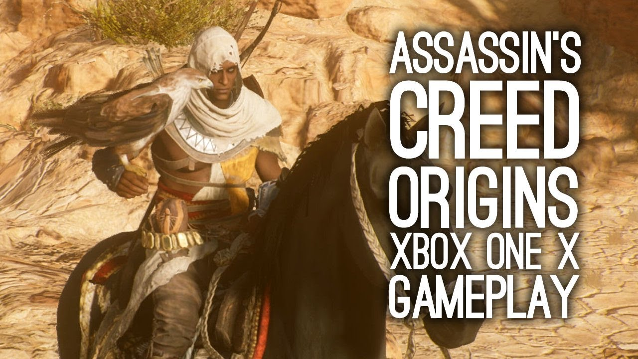 Assassin S Creed Origins Gameplay On Xbox One X Let S Play Ac