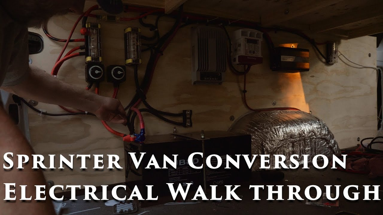 Sprinter Van Conversion Electrical Walk Through