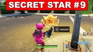 Secret Battle Star Week 9 Season 5 Location Missing Fortnite Battle Royale Road Trip Challenges