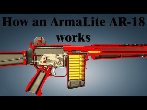 How an ArmaLite AR-18 works