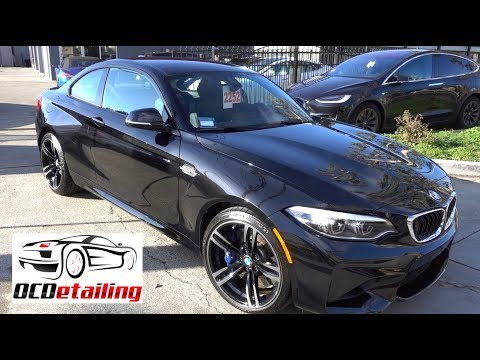 2018 bmw m2 black sapphire metallic opti coat pro plus. Black Bedroom Furniture Sets. Home Design Ideas
