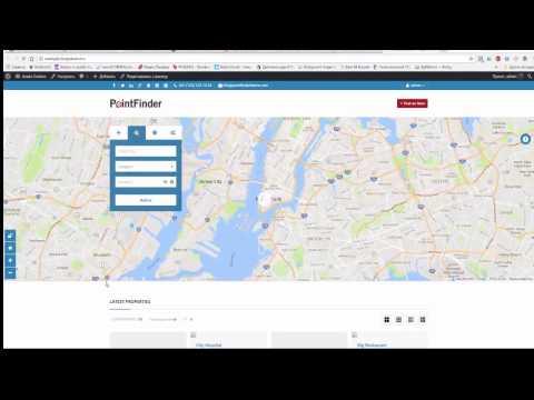 PointFinder - Средство обнаружения Местоположения - Тема WordPress Каталога