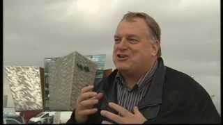 eric kuhne and dr robert ballard interview at titanic belfast