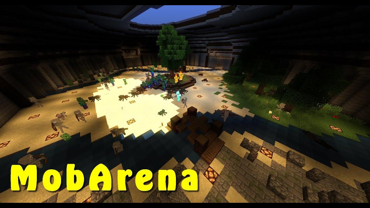 Плагин mob arena майнкрафт 1.7.10