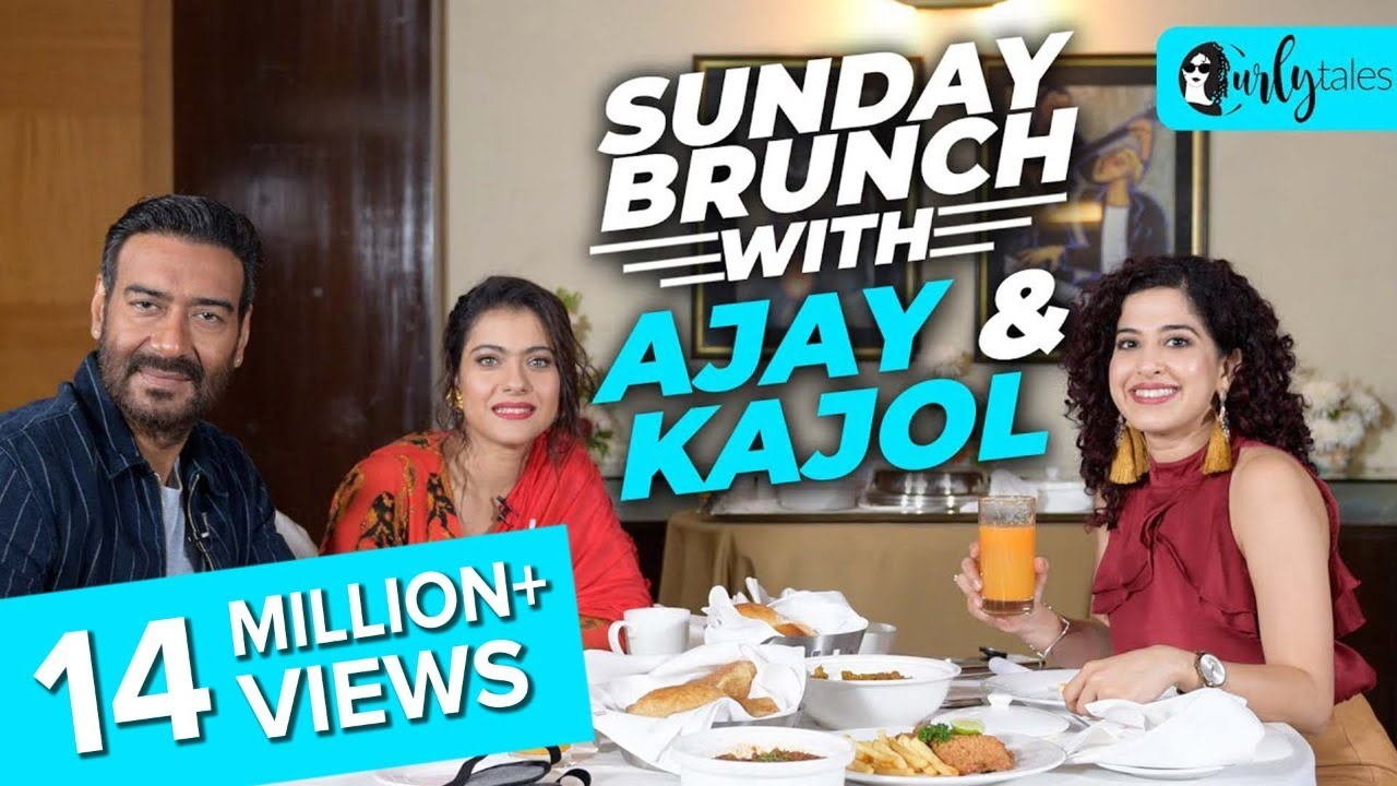 Sunday Brunch With Ajay Devgn & Kajol Devgn X Kamiya Jani | Curly Tales
