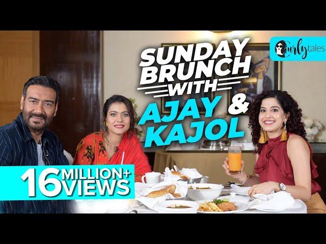 Sunday Brunch With Ajay Devgn & Kajol Devgn X Kamiya Jani | Curly Tales