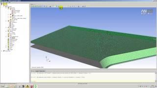 Видеоурок CADFEM VL1222 - Моделирование и анализ прочности сэндвич панели в ANSYS Composite PrePost