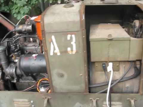 A 3 Generator Hobart Brothers Hercules Engine A3 Wwii