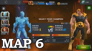 AQ Map 6 Hyperion Boss | Marvel Contest of Champions
