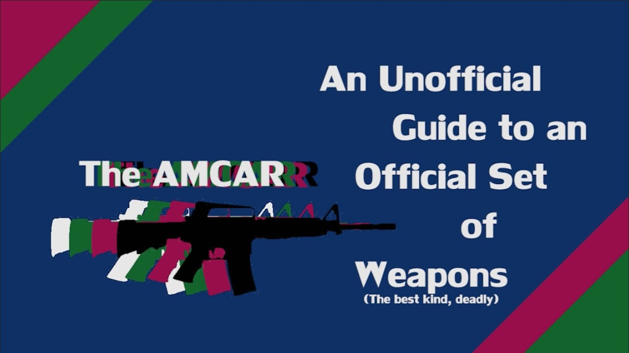 Amcar Payday 2 Weapon Guide Youtube