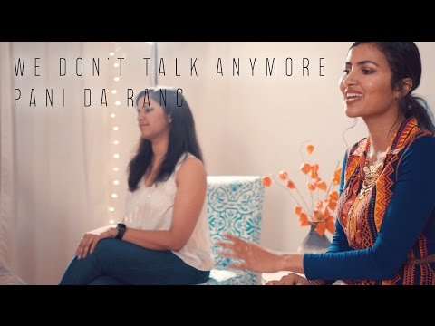 Charlie Puth - We Don't Talk Anymore | Pani Da Rang (Vidya Vox Mashup Cover) (ft. Saili Oak)