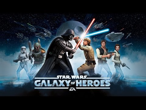 "STAR WARS: GALAXY OF HEROES Gameplay ★ ""Creating the Ultimate Team"""