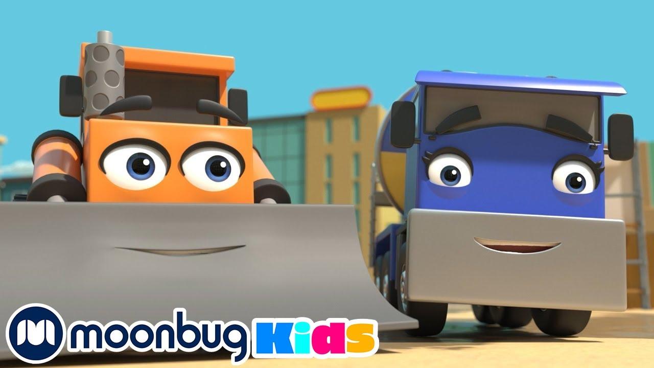 Building Site Song & More Lellobee Songs For Kids | Kids Cartoons & Nursery Rhymes | Moonbug Kids