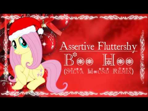 Assertive Fluttershy - Boo Hoo (Silva Hound Remix)