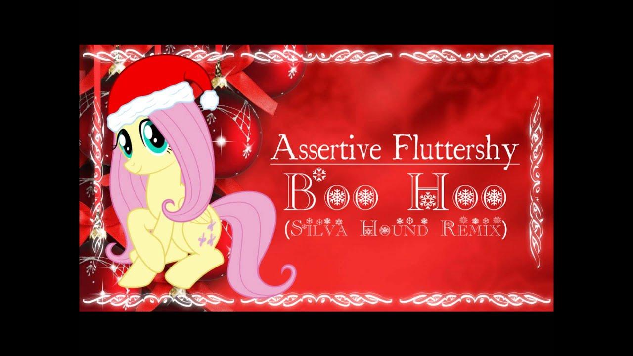 assertive fluttershy boo hoo silva hound remix