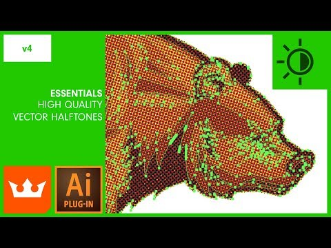 ep 3 Improved Live Vector Halftones in Illustrator