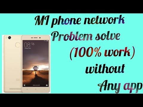 How to solve MI phone network problem (100% work) - YouTube
