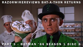 RazorwireReviews Bat-a-thon Returns Part 3 - Batman '66 Season 1 Disc 3