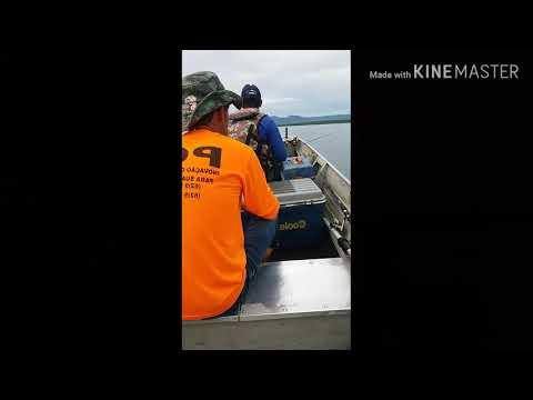 Pescaria no lago são salvador .To. parte 2 com os amigos 🎣