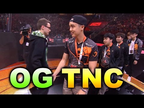 OG vs TNC - MOST INCREDIBLE IN TI HISTORY - TI6 Dota 2