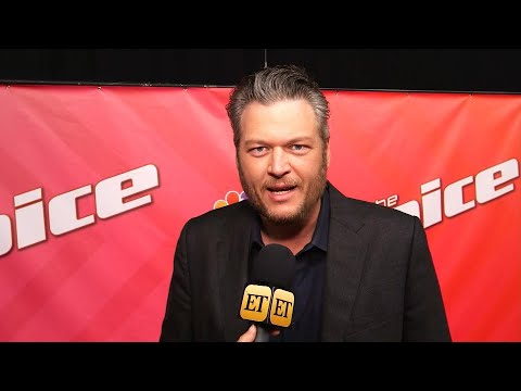 Blake Shelton Jokes That Driving to BTS&39;  Is a Hazard for Him Exclusive