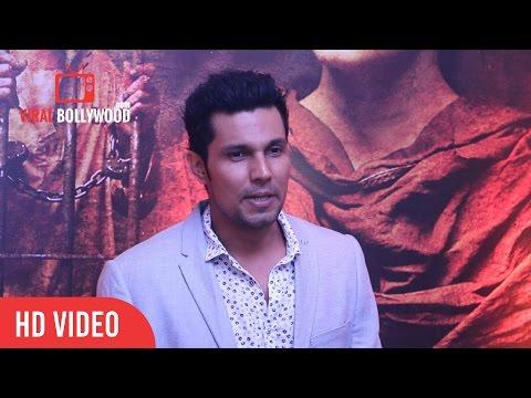 Randeep hooda Full Interview | Sarbjit Success Party