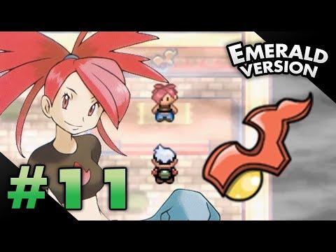 Let's Play Pokemon: Emerald - Part 11 - Lavaridge Gym Leader Flannery