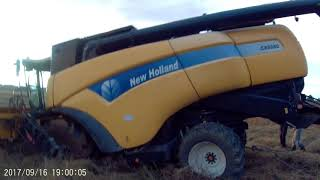 WTOPA  na  gryce - New Holland CX 8080  vs  Renualt + Zetor + Same