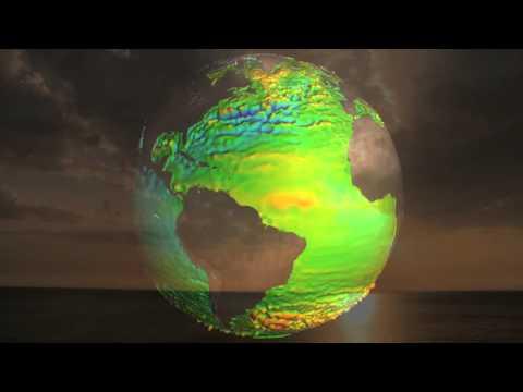 Le niveau des mers par satellite