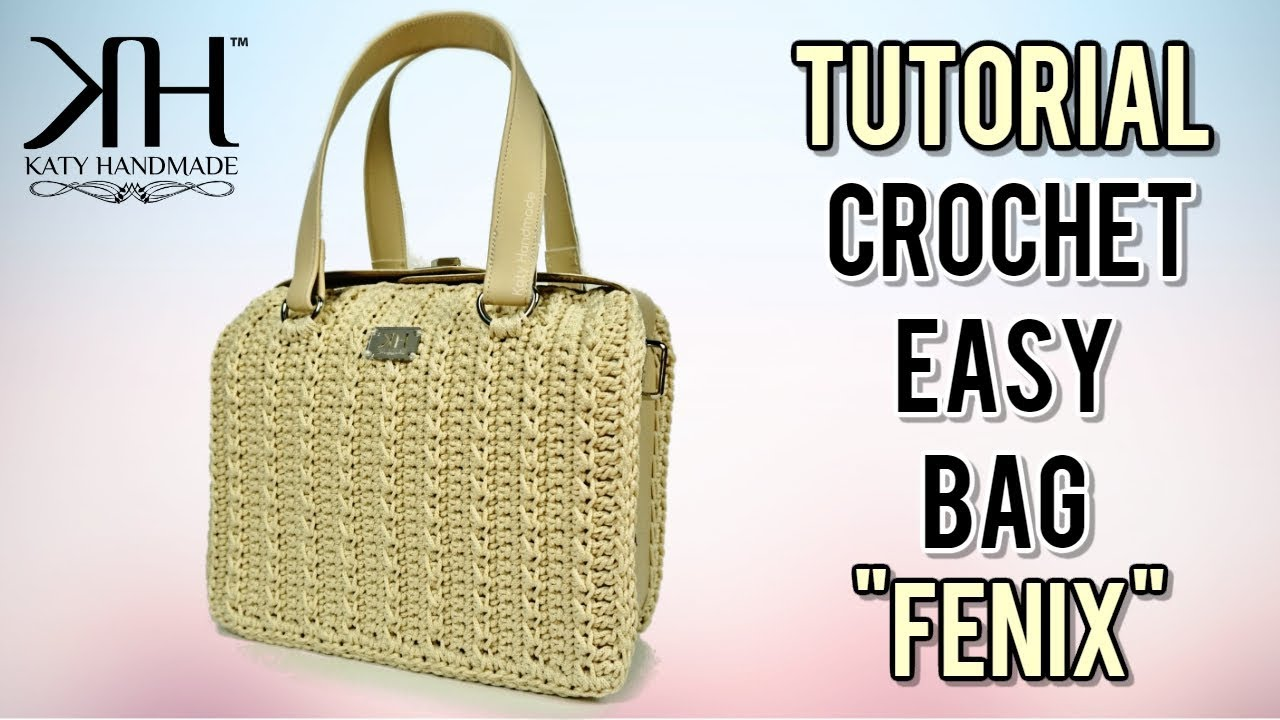 Video Tutorial Borse Uncinetto Katy Handmade