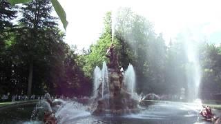 Fontanna Sławy (La Fama) - La Granja de San Ildefonso