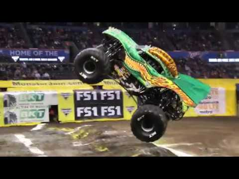 Oklahoma City Monster Jam 2018 Highlights