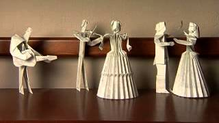 Science Of Origami - Mathematicians And Artists Use Algorithms To Make Complicated Paper Sculptures