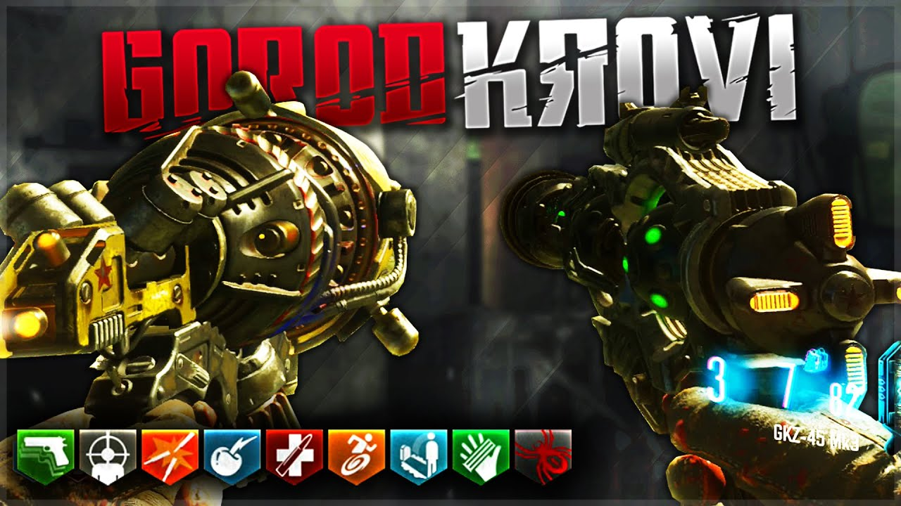 gorod krovi ray gun gkz 45 mk3 gameplay wonder weapon bo3