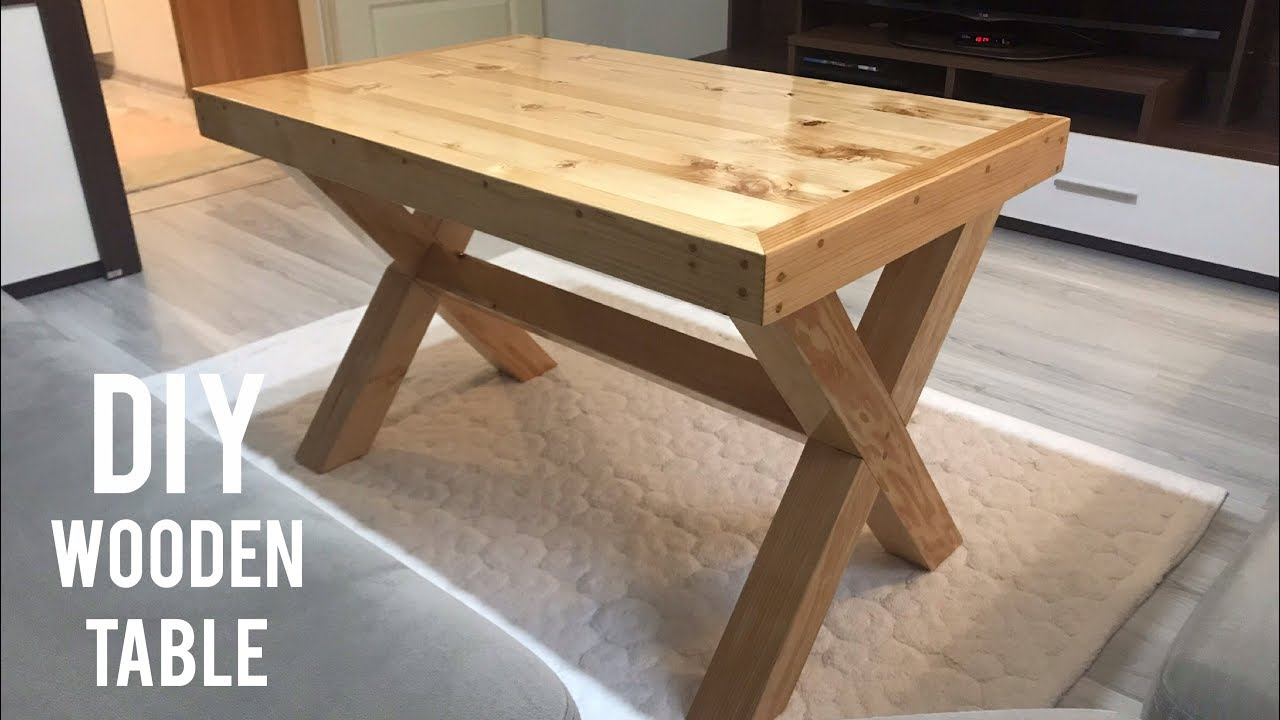 Ahşap masa yapımı / Making a wooden table / How to make a wooden table / Mesa de madera